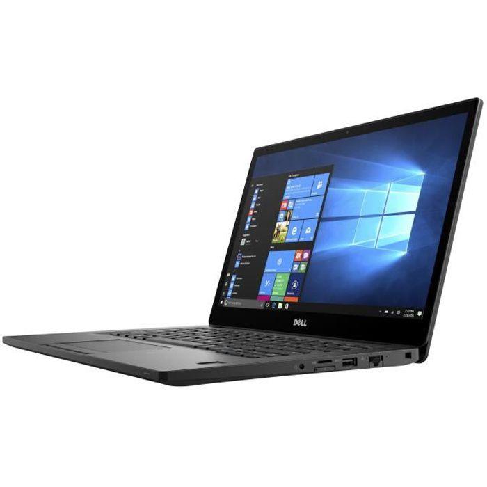Dell Latitude 7280 Ultrabook Core i7 7600U - 2.8 GHz Win 10 Pro 64 bits 16 Go RAM 256 Go SSD 12.5- 1920 x 1080 (Full HD) HD…