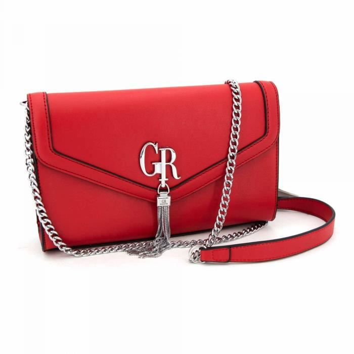 Sac bandoliere halya rouge grs20130861 Femme GEORGES RECH
