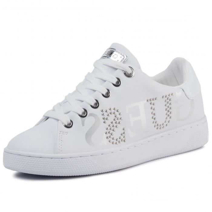 baskets mode riderr/active lady femme guess fl5rid ele12 40 Blanc