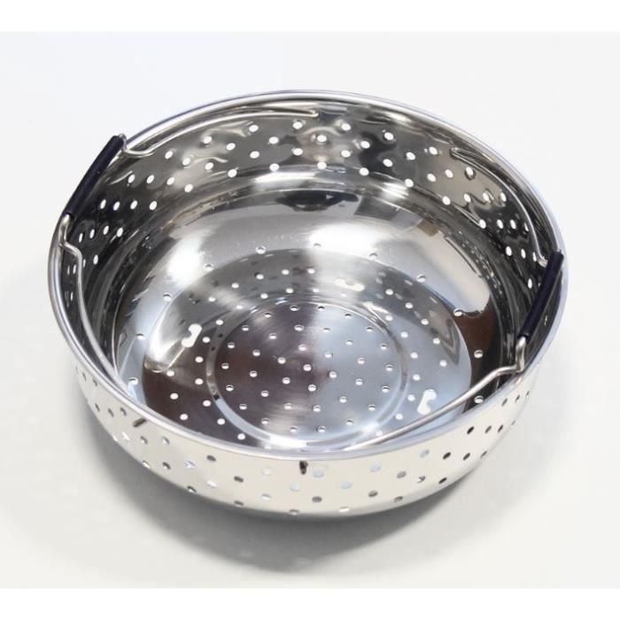 Panier vapeur + support pour cuiseur Cookeo - Moulinex - réf. SS-993397