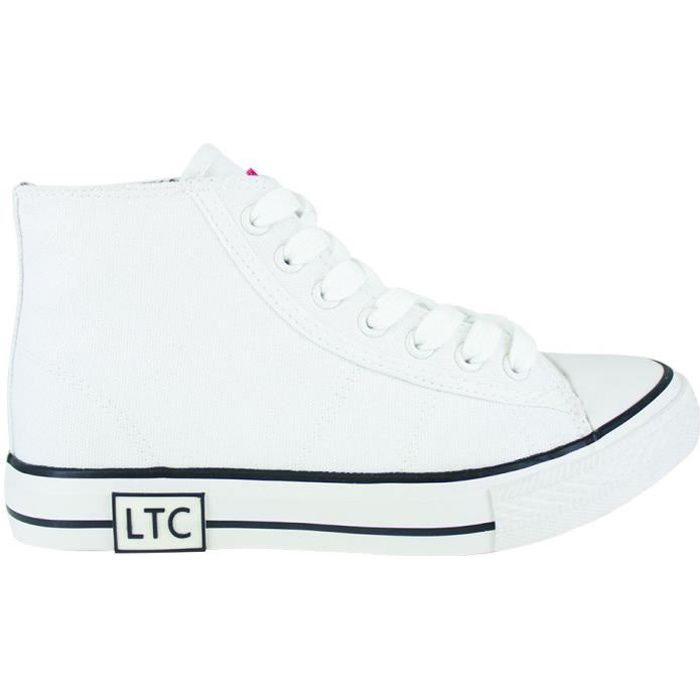 LE TEMPS DES CERISES Chaussures Montantes Hood White Blanc Femme
