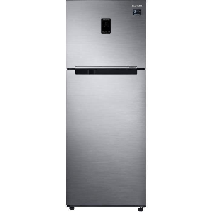 Samsung RT38K5500S9 - Réfrigérateur double portes - 384L (295+89) - Froid ventilé intégral - 67.5x178.5cm - Silver