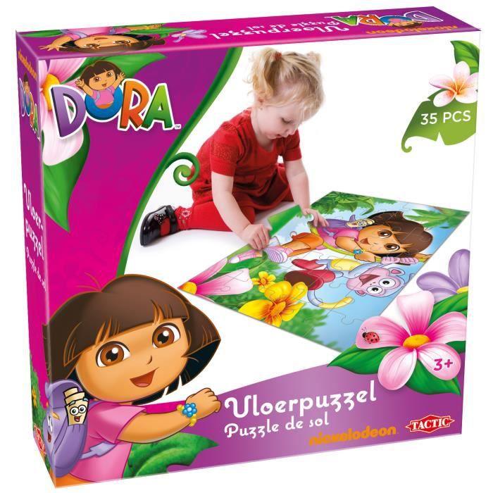 Tactic Dora, Puzzle de sol, Dessins animés, Petite enfance, Nickelodeon Dora, 3 année(s), Fille