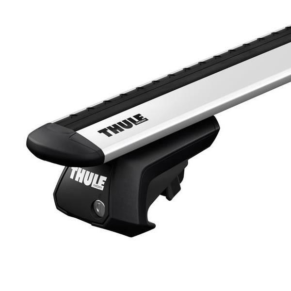 Barres de toit universelles Thule Thule WingBar Evo pour Toy 100Kg Toyota Land Cruiser 120 - 3665597107647