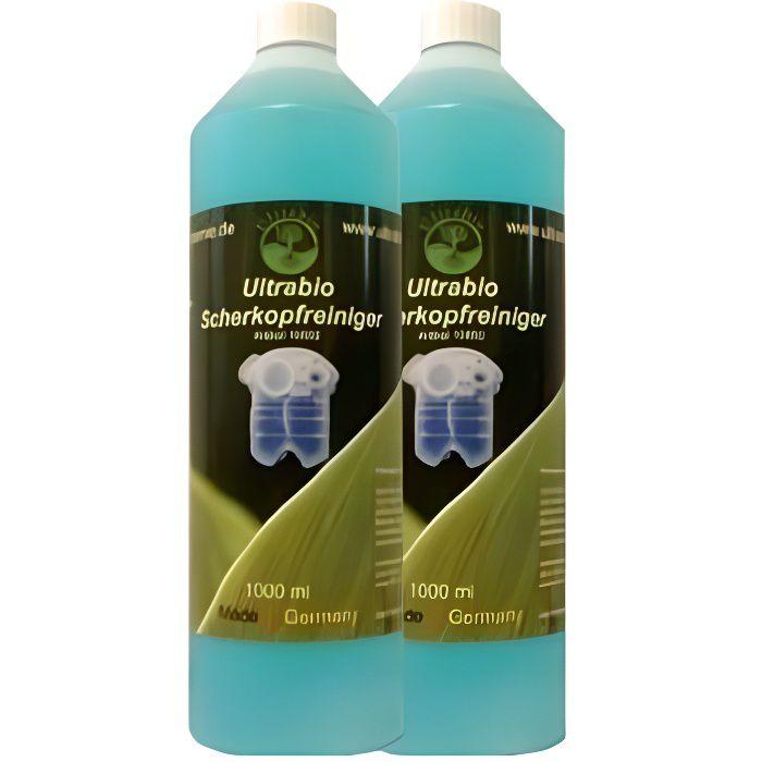 2 LITRE DE RECHARGE LIQUIDE compatible BRAUN CLEAN RENEW lotion nettoyante station RASAGE CCR3 CCR - liquide rasoir