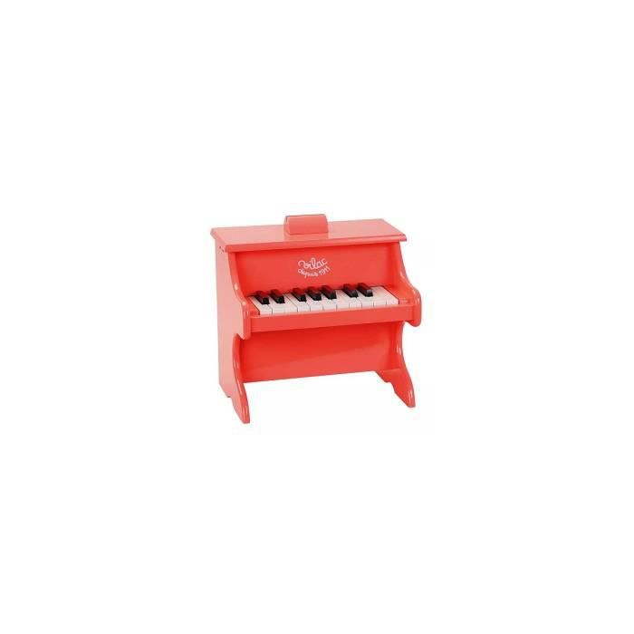 Vilac Piano Crazy Orange 18 Touches avec partitions