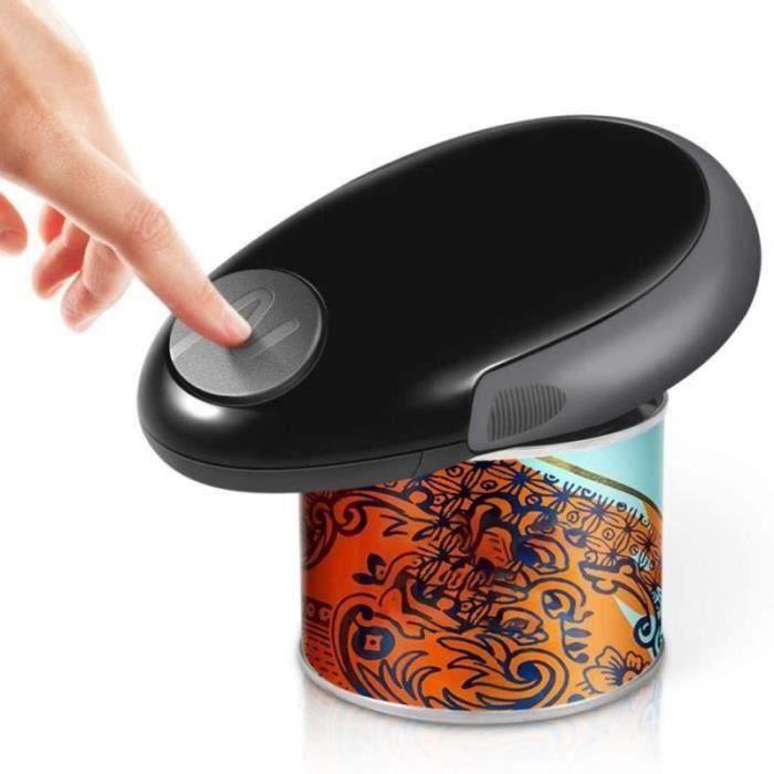 WS08299-Ouvre-boîte électrique Mini Ouvre-boîte à Couteau, Noir