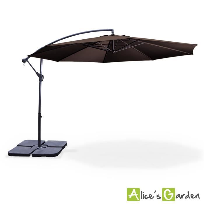 ce parasol d port hardelot de forme octogonale 300cm est l 39 accessoire indispensable de. Black Bedroom Furniture Sets. Home Design Ideas