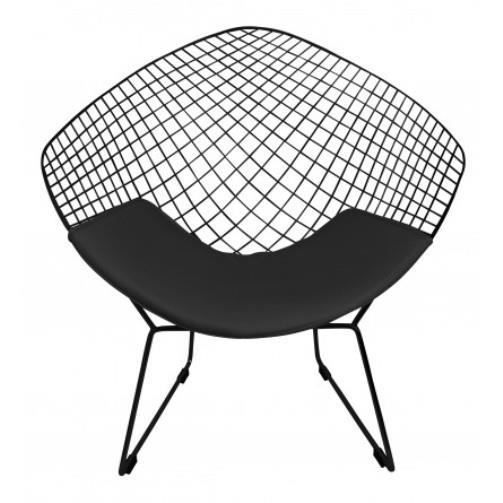 fauteuil style bertoia diamond wire chair couleur total. Black Bedroom Furniture Sets. Home Design Ideas