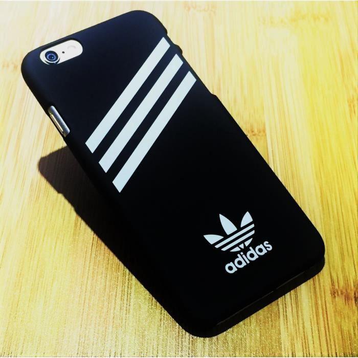 adidas coque iphone 6 plus 6s plus noir