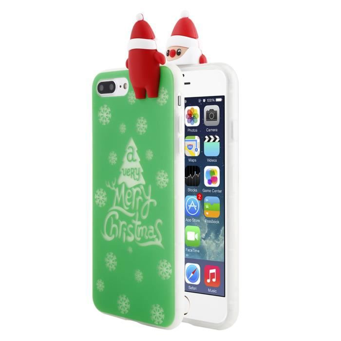 coque iphone 8 plus vert