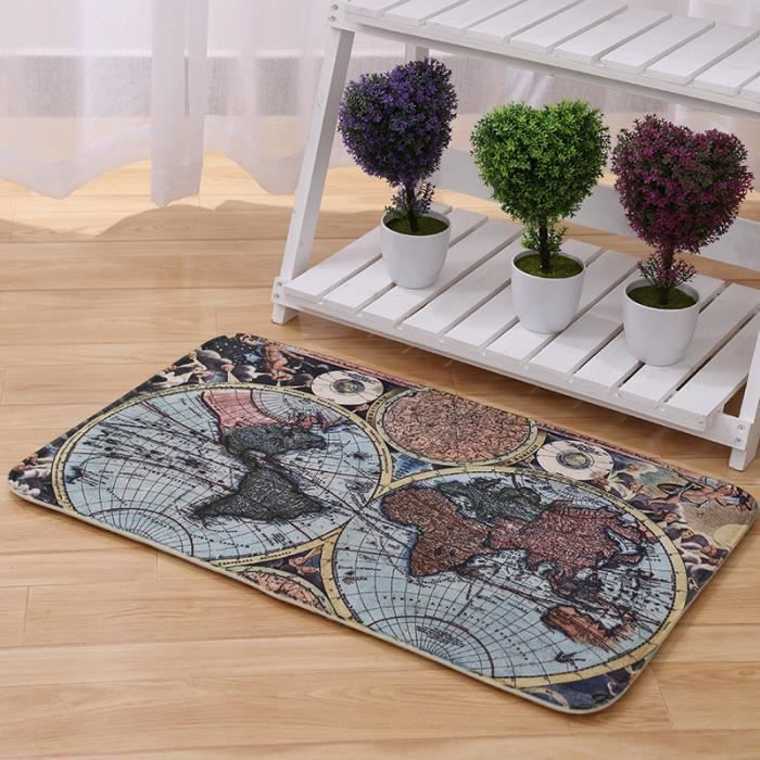 Carte du monde tapis salon table basse chambre tapis tapis for Tapis pour table basse