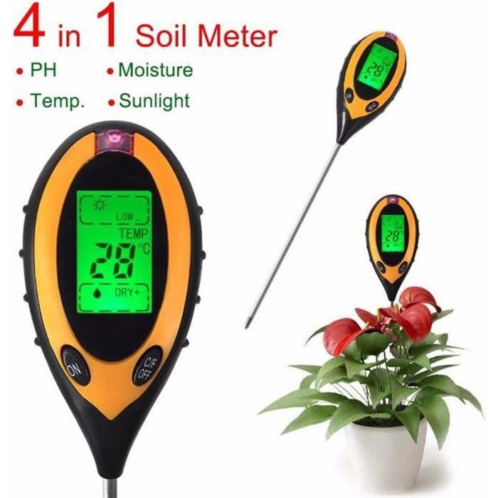 4 En 1 Testeur De Sol Ph Humidité Acidité Pour Le Jardin Des Plantes Achat Vente Mesure Thermique 4 En 1 Testeur De Sol Ph Cdiscount