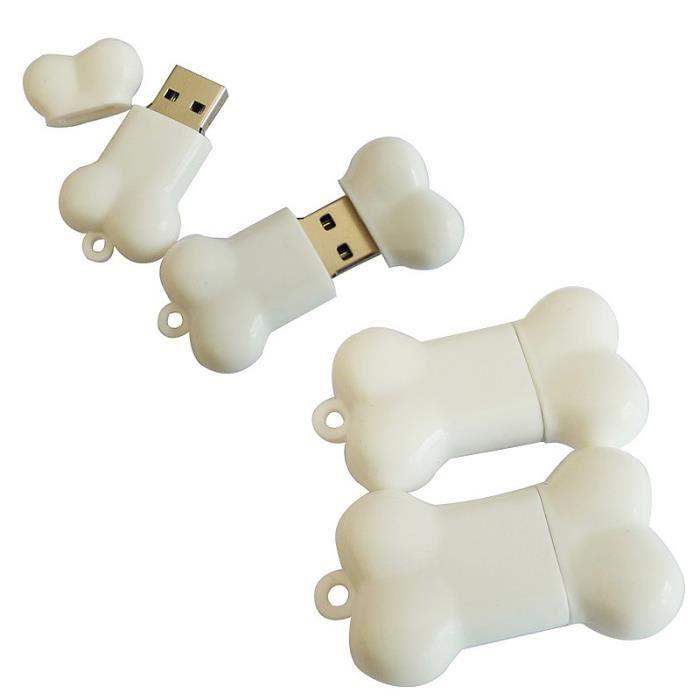 Lapin Blanc V 64Go USB 2.0 Clé USB Clef Mémoire Flash Data Stockage