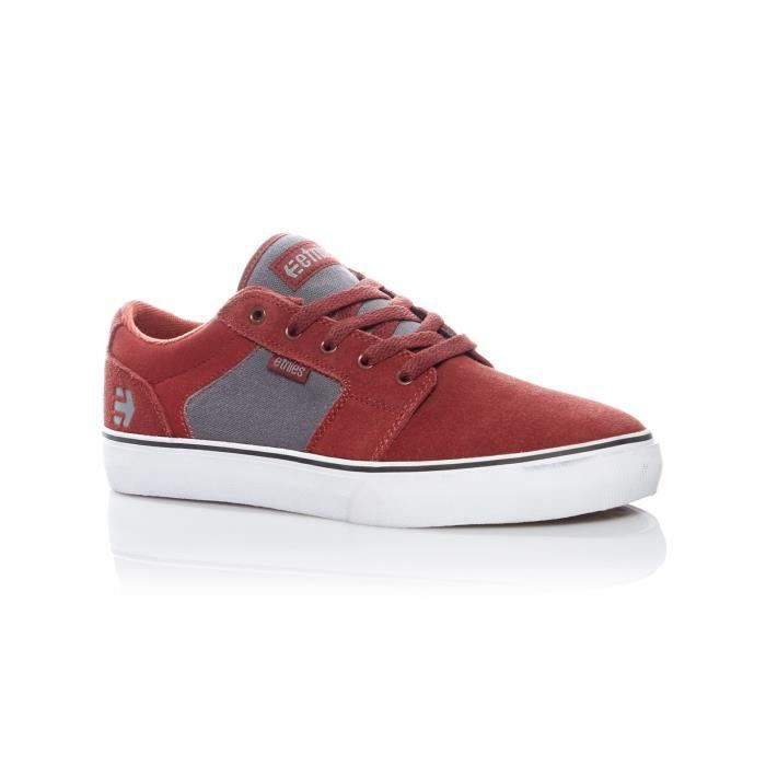 Chaussure Etnies Barge LS Rouge-Gris