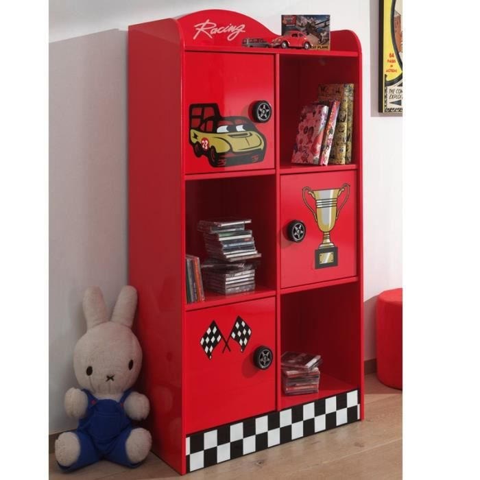 armoire enfant rouge achat vente armoire enfant rouge. Black Bedroom Furniture Sets. Home Design Ideas