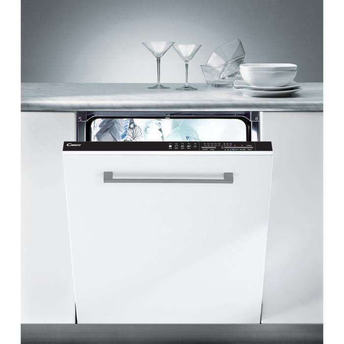 Candy Cdi 2ls36 47 Lave Vaisselle Encastrable 13 Couverts 47 Db A Larg 60 Cm
