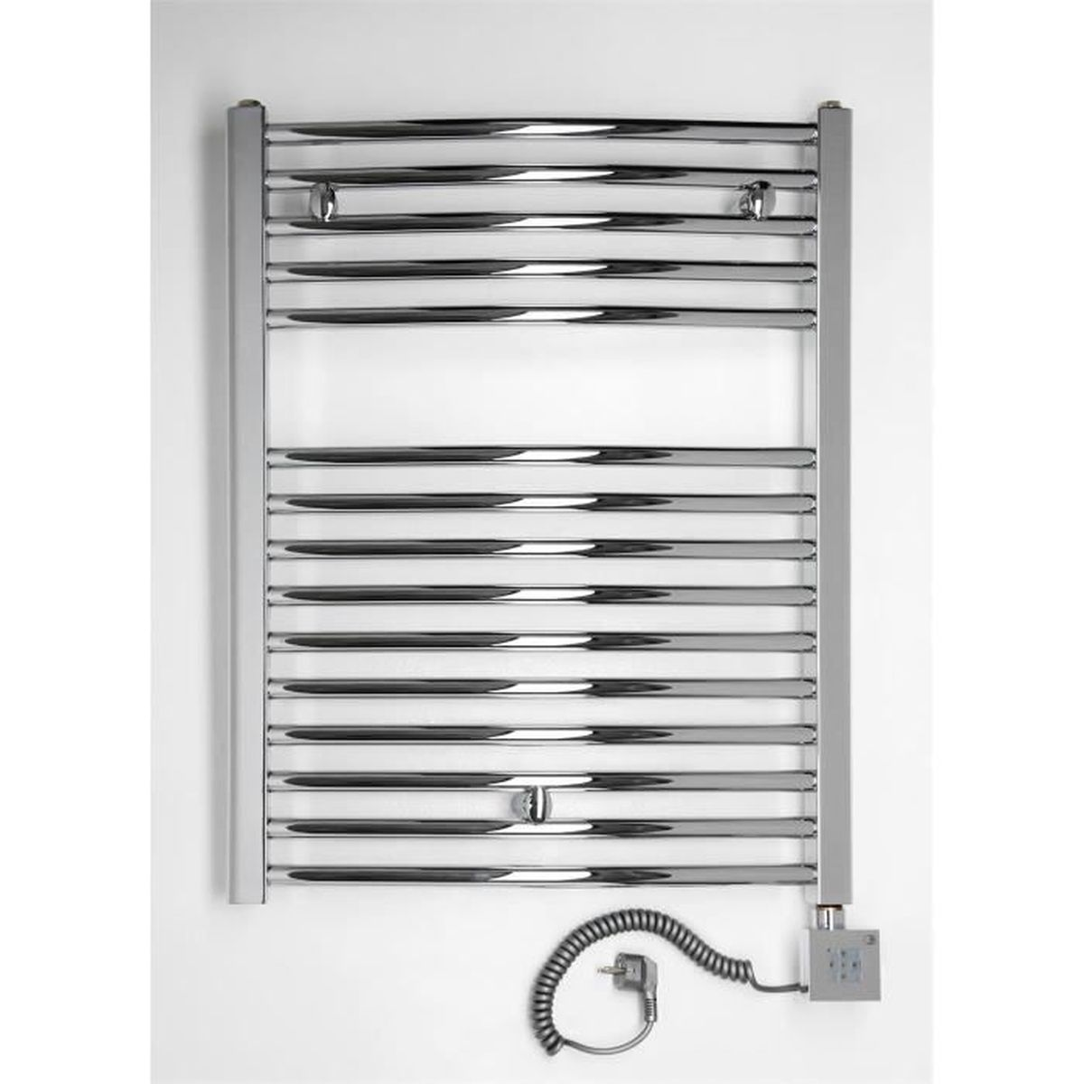 radiateur lectrique seche serviette chrom 600 watts barres courb es 775htx. Black Bedroom Furniture Sets. Home Design Ideas