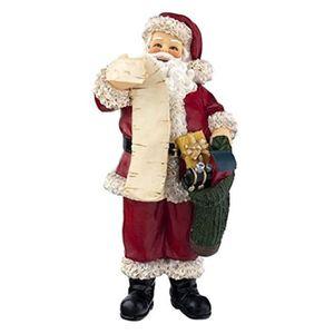 POUPÉE Poupee HZ3T3 Maison de poupées Père Noël miniature