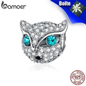 Charm's BAMOER Charms 925/1000 Sterling Argent Chaton Chat