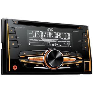 AUTORADIO JVC autoradio 2DIN CD KW-R520