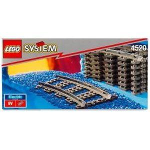 ASSEMBLAGE CONSTRUCTION Jeu D'Assemblage LEGO XHQW6 Courbé voie ferrée 452