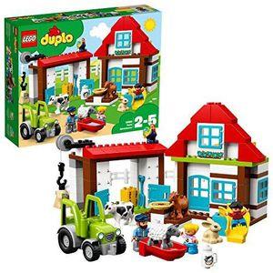 ASSEMBLAGE CONSTRUCTION LEGO DUPLO - Les aventures de la ferme - 10869 - J