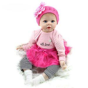 POUPÉE Baby Reborn 55 cm Poupée Lifelike Reborn Princesse