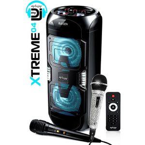 PACK SONO Karaoké Enfant Bluetooth 150W RMS Batterie USB MP3