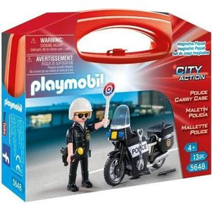 UNIVERS MINIATURE PLAYMOBIL 5648 Valisette Police