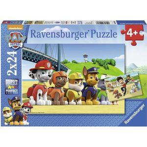 PUZZLE PAT'PATROUILLE Puzzle Chiens Héroïques 2x24 pcs