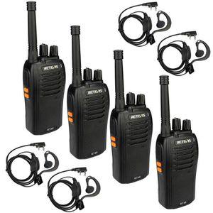 TALKIE-WALKIE Retevis RT46 Talkie-walkie PMR446 VOX Silencieux R