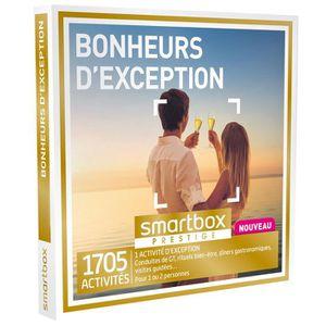 COFFRET THÉMATIQUE Coffret Cadeau - Bonheurs d'exception - Smartbox