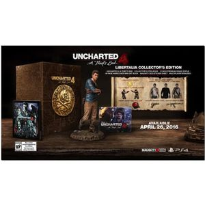 JEU PS4 Uncharted 4: A Thief's End Libertalia Collector's