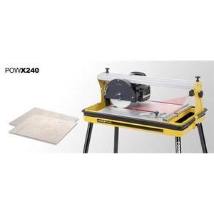 SCIE ÉLECTRIQUE MACHINE COUPE CARRELAGE TABLE 600 W VARO POW X240