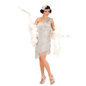 ACCESSOIRE DÉGUISEMENT Déguisement robe charleston argent femme