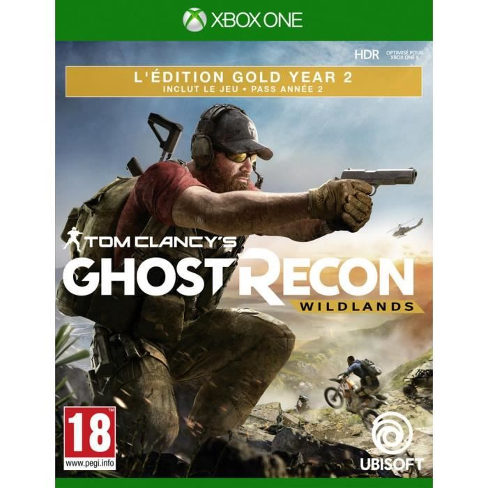 Ghost Recon Wildlands Year 2 Gold Jeu Xbox One