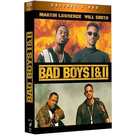 DVD Bad Boys 1 ; Bad Boys 2 En Dvd Film Pas Cher Bay