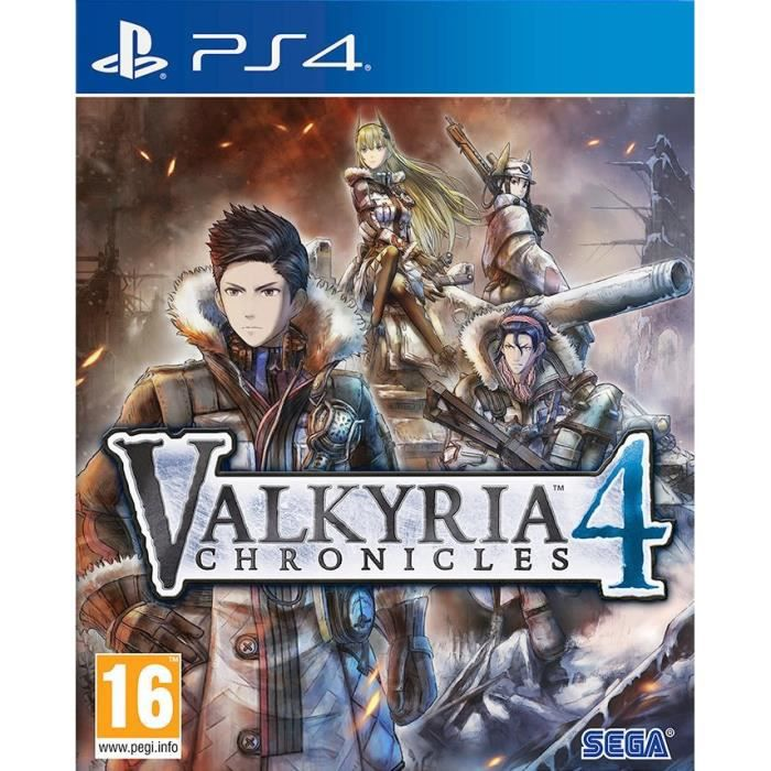 Valkyria Chronicles 4 Jeu PS4