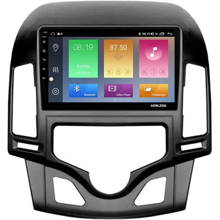 ADMLZQQ pour Hyundai I30 2006-2011 9 Pouces Autoradio Navigation Multim&eacutedia, An oid 10.0 Double Din-GPS-FM-RDS-Bluetooth-233