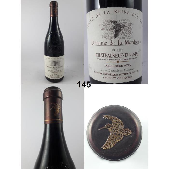 Châteauneuf-du-Pape - Domaine de la Mordorée 2000 - N° : 145, Châteauneuf-du-Pape, Rouge