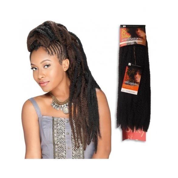 Afro Soft n' Silky braid Sensationnel #1B/99J