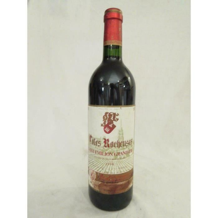 saint-émilion côtes rocheuses (grand cru) rouge 1998 - bordeaux