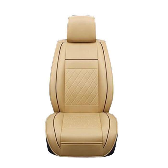 Housse de siège de voiture en cuir universel d'auto antipoussière de Protector Mat intérieur de HOUSSE DE SIEGE - COUVRE SIEGE