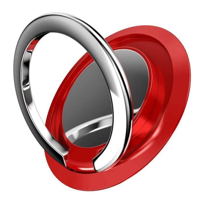 Support universel de prise de téléphone portable 360 anneau de doigt support de téléphone portable support de montage - Type red