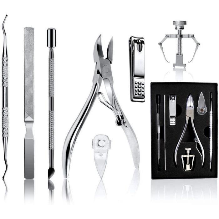 Ongles Incarnés Coupe, Pince À Ongles Pour Ongles Incarnés Et Épais, Ongles Kit De Manucure Pédicure Professionnel En Inox