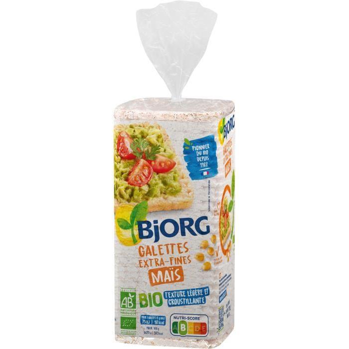 Galettes bio extra-fines maïs 130g Bjorg
