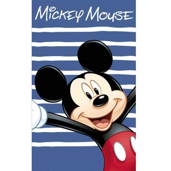 Serviette de Plage Mickey Happy