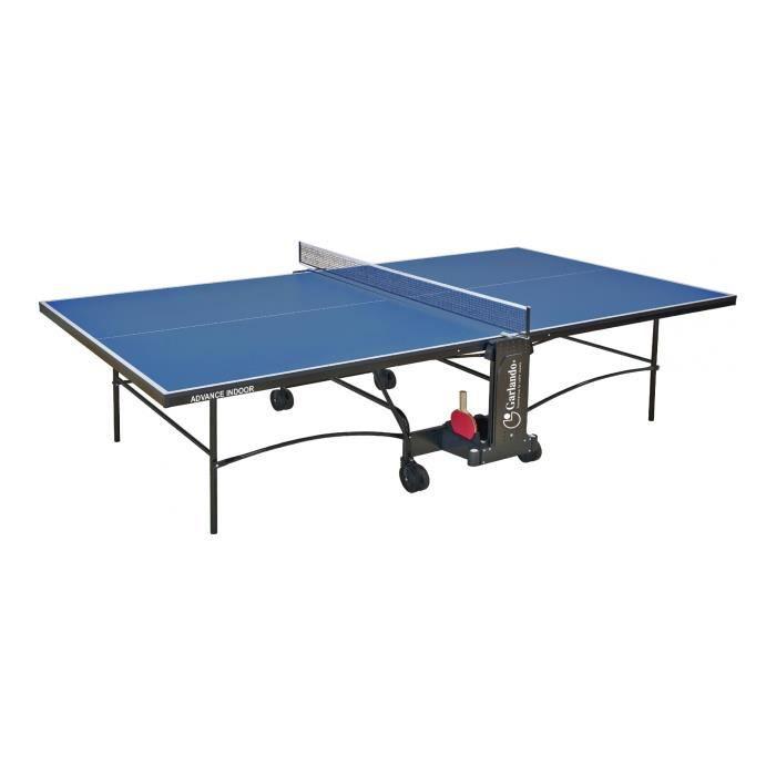 GARLANDO - Advance intérieur - table de tennis - Bleu - réf C-277I