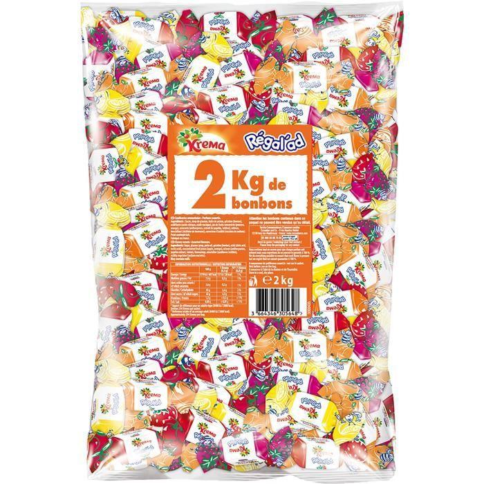 KREMA Bonbons Régal'ad - 2 kg